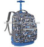 (KL267) Saco do trole da escola da trouxa do poliéster das crianças de OEM/ODM com roda