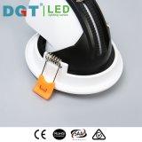 Projector ajustável elegante do diodo emissor de luz do projeto 12W para o restaurante e a alameda de compra