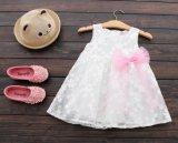 Kleine Mädchen-Fußleisten-Form-Sommer-Sleeveless Prinzessin Dress