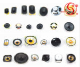[4وهم] [3و] [40مّ] [بلوتووث] مجهار مطّاطة مخروط المتحدث منخفضة - تردّد
