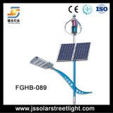 luz de rua híbrida solar do vento 60W de 8m