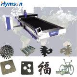 Machine de découpage grande de laser de fibre d'acier inoxydable