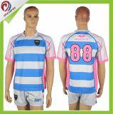 Uniforme sublimé de rugby, chemise faite sur commande d'équipe de rugby, rugby Jersey de qualité