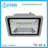 La mejor luz de inundación del LED 100W, ideal para el estacionamiento, cartelera