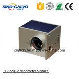 보석 공정 공업을%s 이산화탄소 Laser 표하기 기계 Galvo Sg8220