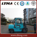중국 경쟁가격 택시를 가진 3.5 톤 디젤 엔진 포크리프트