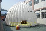 광고를 위한 팽창식 돔 천막