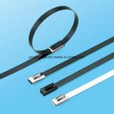 Tipo Releasable revestido cinta plástica da cola Epoxy do aço inoxidável