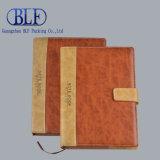 Cahier bon marché de cuir véritable (BLF-F045)