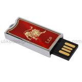 Excitador instantâneo do USB do metal vermelho (UL-M049-02)