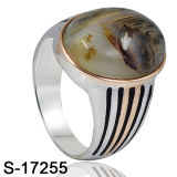 Argento 925 dell'anello dei monili di modo del nuovo modello di Hotsale della fabbrica