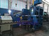 Máquina horizontal automática do metal Chip Briquette