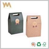 Packpapier-Geschenk-verpackenkasten mit Griff