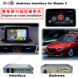 Video interfaccia di percorso Android di GPS per Mazda 3 Axela (sistema di MZD)