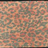 Couro impresso leopardo de 2016 formas para as sapatas das bolsas (E6057)