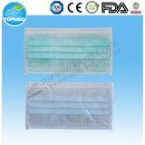 Papiergesichtsmaske. Papier1/2ply gesichtsmaske mit Gummiband