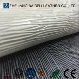 Cuir résistant d'unité centrale de PVC d'abrasion pour le tissu de meubles