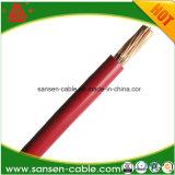Изолированный PVC кабель провода H07V-U H07V-R здания провода медного сердечника проводника одиночного электрический медный