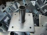Heißes BAD galvanisierte Baugerüst-Grundplatte