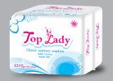 Doublure des essuie-main sanitaires 12 Napkins+5 Panty de service d'OEM de serviette sanitaire