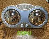 Calentador del cuarto de baño/calentador montado en la pared del cuarto de baño/calentador infrarrojo de oro montado en la pared de 2 lámparas