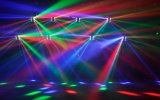 8X10W iluminación principal móvil de la viga LED para DJ