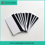 Cartão lustroso do PVC da listra magnética do Inkjet