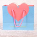 Bolso del regalo del papel de la boda de la dimensión de una variable del corazón