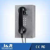 バックライトが付いている金属のキーパッド、電話のための防水キーパッド、Vandalproof Kayboard