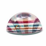 In het groot Goedkope Presse-papier hx-8385 van de Foto van het Glas van de Herinnering van het Kristal