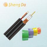 Speciale Digitale kabeltelevisie- Communicatie RG6 Siamese Kabel
