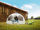 قابل للنقل خارجيّة [ب] [رتّن] [ويكر] كرة قدم خيمة يتيح أن يجمّع