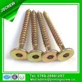 1/4 tornillo de madera principal plano del mecanismo impulsor Torx del cliente
