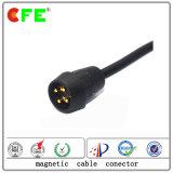 Conetor de potência magnético impermeável do cabo