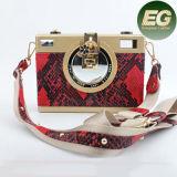 Sacs d'embrayage chauds de Madame Crossbody Bag Fashion Evening de modèle de serpent de vente Eb849