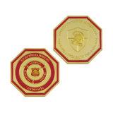 Pièce de monnaie spéciale d'enjeu de souvenir d'émail en métal de modèle