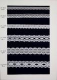 Nuevo cordón del algodón de la alta calidad del estilo 2017 para los accesorios de la ropa