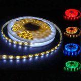 Alto indicatore luminoso di striscia dell'indicatore luminoso 14.4W/M LED della corda di Istruzione Autodidattica 60LEDs/M Epistar 5050SMD LED con IP65 impermeabile