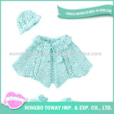 Xaile acrílico do inverno do lenço do poliéster do bebê da alta qualidade