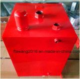 Het poeder bedekte de Rode Container van het Staal van de Doos van de Dekking met een laag