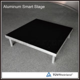 Estágio esperto de alumínio móvel da plataforma de madeira portátil barata