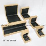 Contenitore di imballaggio stabilito di legno duro naturale dell'accumulazione della casella di Jewellry