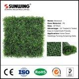 小さいプラスチック人工的な緑は庭のためのプラント格子塀を残す