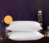 Роскошная белая гусына вниз Pillow для гостиницы 5 стартов