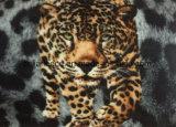 Flanelle superbe avec l'impression de tigre