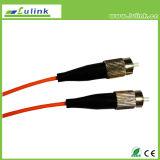 Cabo de correção de programa Multimode Single-Mode da fibra óptica com o conetor do Sc LC FC