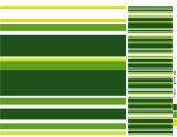 PVC impresso PVC Tablecover do teste padrão e da forma do quadrado com revestimento protetor (TJ0088)