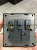 Acrylic Black White USB Socket Wall Switch