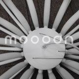 Candelabro de florescência branco decorativo do diodo emissor de luz da flor E14 da arte européia moderna do metal do ferro