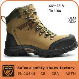 Dedo do pé de aço do conforto da alta qualidade de China que caminha a fábrica de sapatas (SC-2218)